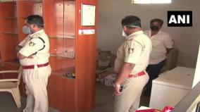 liquor-worth-rs-1-5-lakhs-looted-from-a-liquor-shop-in-gadag-earlier-today-excise-department-and-police-teams-have-begun-investigation