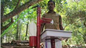 corona-scare-man-from-kanyakumari-invents-new-machine-for-hand-wash