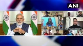 prime-minister-narendra-modi-held-meeting-with-40-top-sportspersons