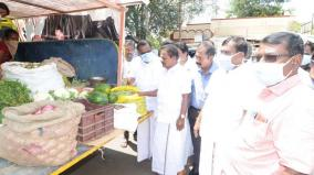 sivagangai-vegetables-bag-scheme-for-villages-convened-by-minister-baskaran