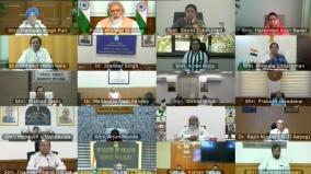 prime-minister-narendra-modi-chairs-a-meeting-of-council-of-ministers-via-video-conferencing