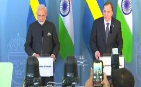pm-modi-had-a-telephone-conversation-today-with-stefan-lofven-prime-minister-of-sweden
