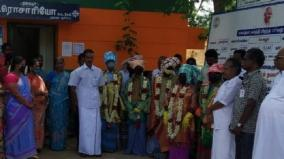 dindigul-sanitary-workers-honored-in-village