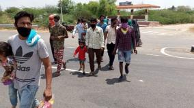 corona-curfew-kulfi-ice-workers-try-to-travel-by-bike-to-rajasthan