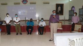 corona-awareness-training-in-kamarajar-university