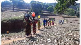 summer-sad-insufficient-water-in-villages