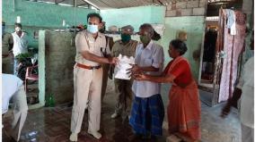 vedharanyam-dsp-helps-poor