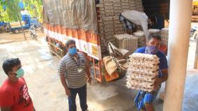 complaining-of-lack-of-food-supplies-in-the-restricted-area-of-the-corona-half-of-nagercoil-corporation-to-distribute-eggs-and-vegetables