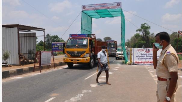 corona-car-in-tamilnadu-kerala-border