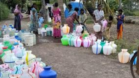 srilankan-refugees-affected-with-water-scarcity-at-kallakurichi