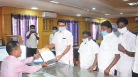 karur-mla-sendhil-balaji-warns-district-collector