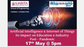 amrita-school-of-engineering-and-hindu-tamil-thisai-in-webinar