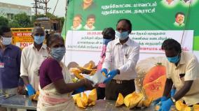 pudukottai-municipality-spreads-awareness-about-masks
