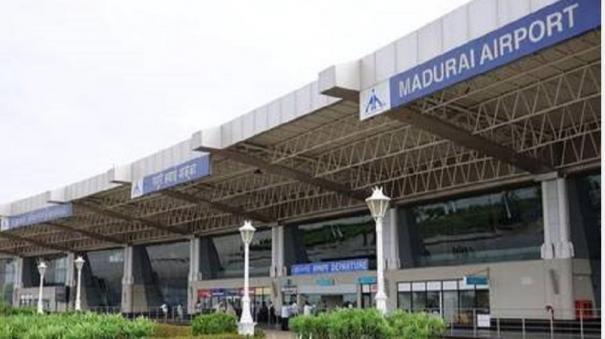 corona-fear-few-passengers-turned-in-madurai-airport