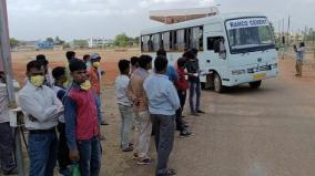 bihar-migrant-workers-sent-to-native-place-from-ariyalur
