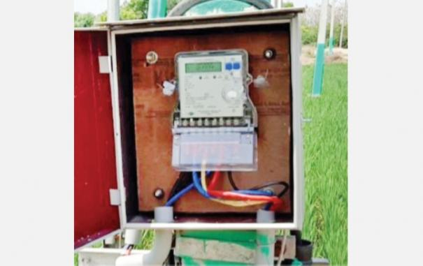 electronic-meter-in-farm-lands
