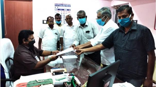 thirupuvanam-2-crore-worth-work-allotted-without-proper-tender-notice
