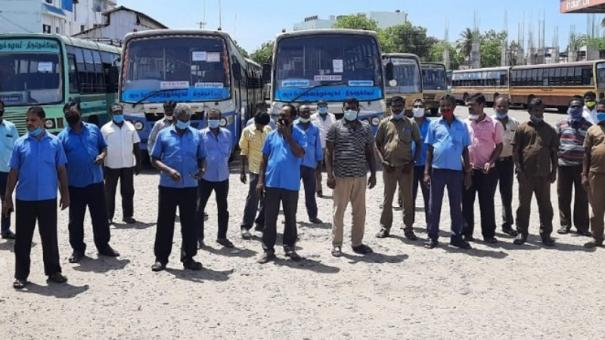 tutucorin-transport-corporation-workers-go-on-strike
