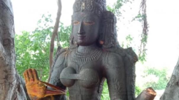 1000-years-old-kotravai-statue-found-in-virudhunagar