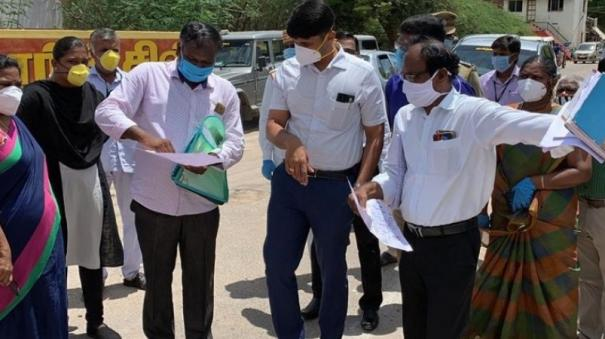 district-collector-inspects-in-tutucorin-as-32-gets-infected-in-one-single-day