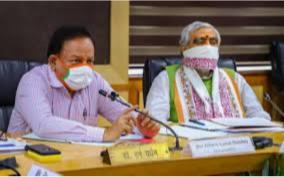 harsh-vardhan-reviews-status-and-preparations-for-covid-19-management-with-lt-governor-health-minister-of-delhi