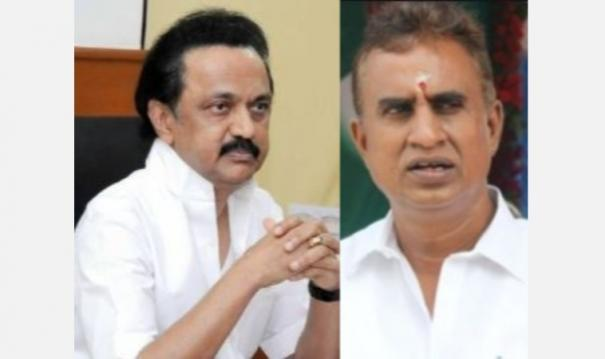 action-against-minister-velumani-a-meeting-of-coimbatore-dmk-executives-led-by-stalin