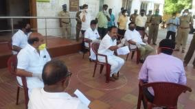 dmk-mlas-arrested-in-vellore-for-participating-in-protest