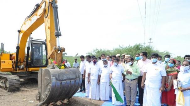 sivagangai-manimutharu-reconstruction-work-begins