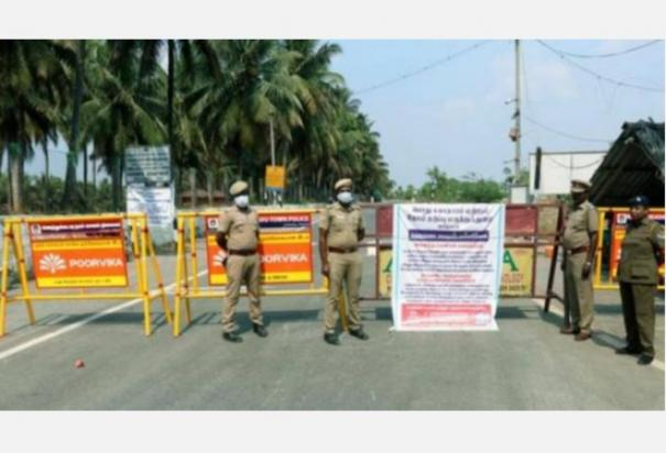 karaikal-district-administration-which-has-once-again-closed-the-border