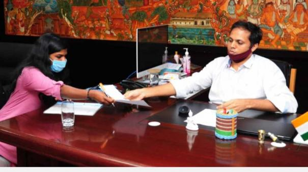 tribal-woman-takes-charge-as-sub-collector-in-kerala