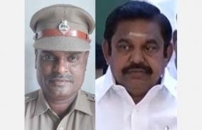 chief-minister-s-condolence-over-the-demise-of-inspector-balamurali-statement-of-employment-to-a-family-member