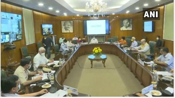 amit-shah-holds-meeting-with-senior-officials-of-delhi-ncr-over-covid19-situation