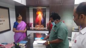 official-inspection-in-tirupur-private-school