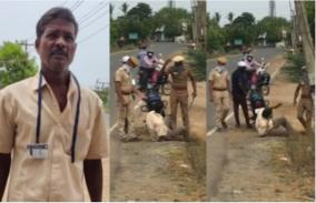 thiruvallur-police-attack-on-e-pass-request-human-rights-commission-notice-to-police