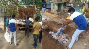 full-curfew-in-chennai-300-kg-of-chicken-and-100-kg-of-fish-seized