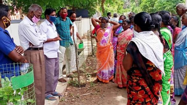 farm-labourers-protest-in-trichy