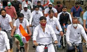 dk-shivakumar-cycle-rally
