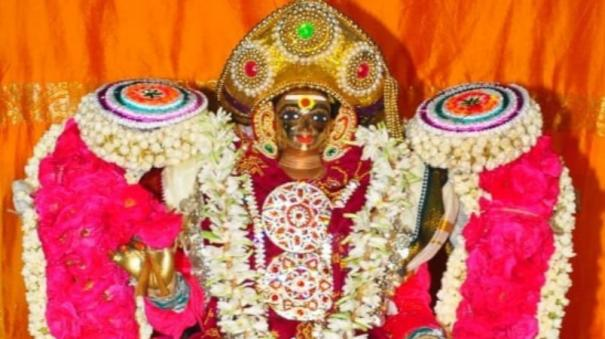famous-karaikal-mother-mangani-festival-devotees-started-with-ease-without-participation