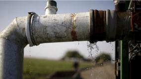 kalayarkoil-25-villages-affected-as-water-pipe-gets-damaged