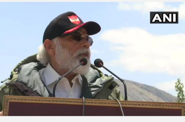 bravery-shown-by-you-has-sent-message-about-india-s-strength-pm-modi-to-soldiers-in-ladakh