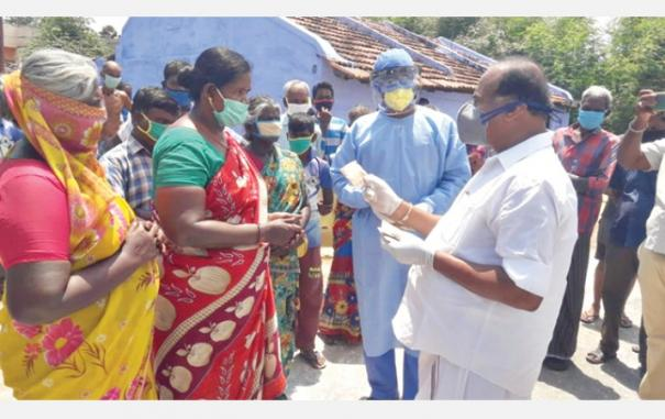 minister-inspects-corona-affected-areas