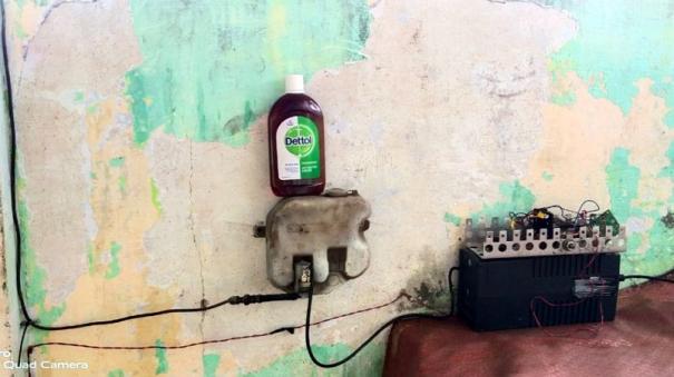 sanitization-machine
