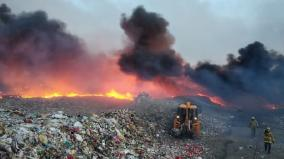 fire-in-nellai-solid-waste-dumpyard