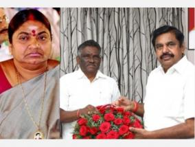 corona-affect-chief-minister-congratulate-former-minister-valarmathi-and-legislator-arjunan-for-quick-relief