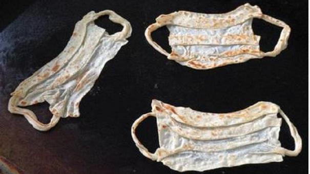 madurai-restaurant-makes-mask-parottas-to-create-awareness-about-covid-19