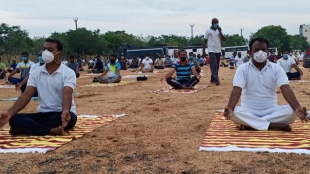 yoga-for-policemen-in-dindigul