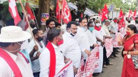 left-parties-protest-at-puduchery