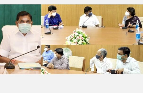 central-medical-team-in-tamil-nadu-consult-with-the-chief-minister