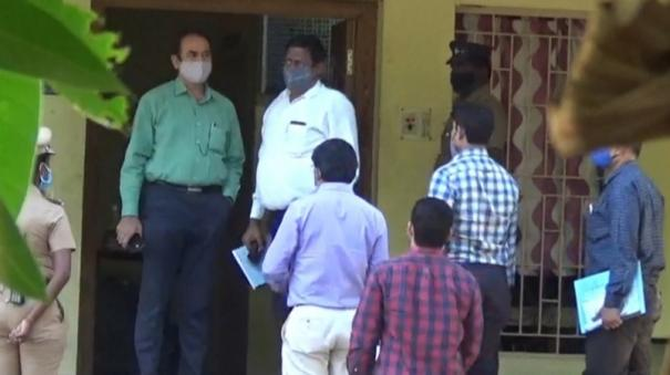 cbi-enquiry-at-sattankulam-police-station