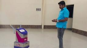 madurai-engineer-invented-robot-to-help-frontline-wokers